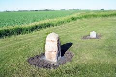 Corner of site