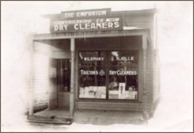 Herman Wilenskys Tailor Shop, Devils Lake