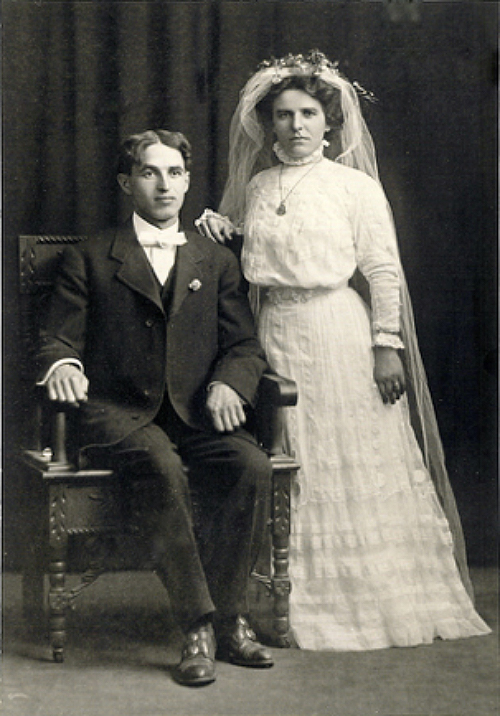 Herman and Ida, married on September 5, 1909