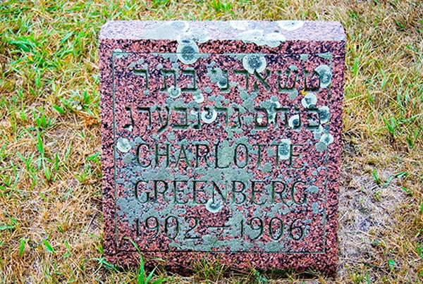 Charlotte Greenberg 1902-1906