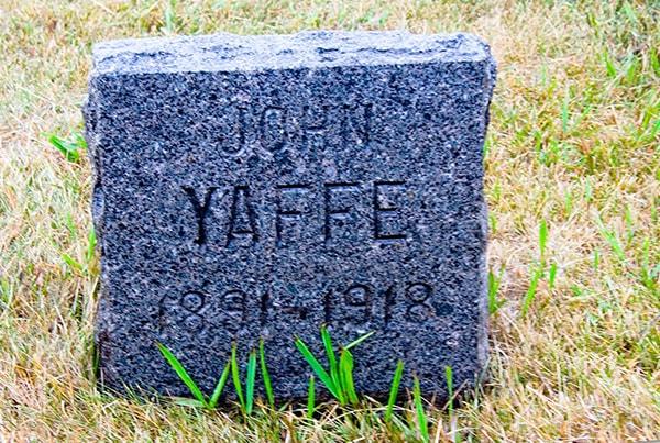 John Yaffe 1891-1918