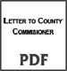 Letter To County
