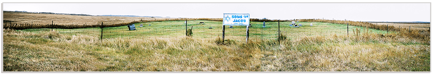 Sons of Jacob Cemetery, as seen in 2004